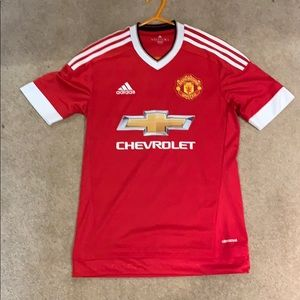 Manchester United soccer jersey, no person on back